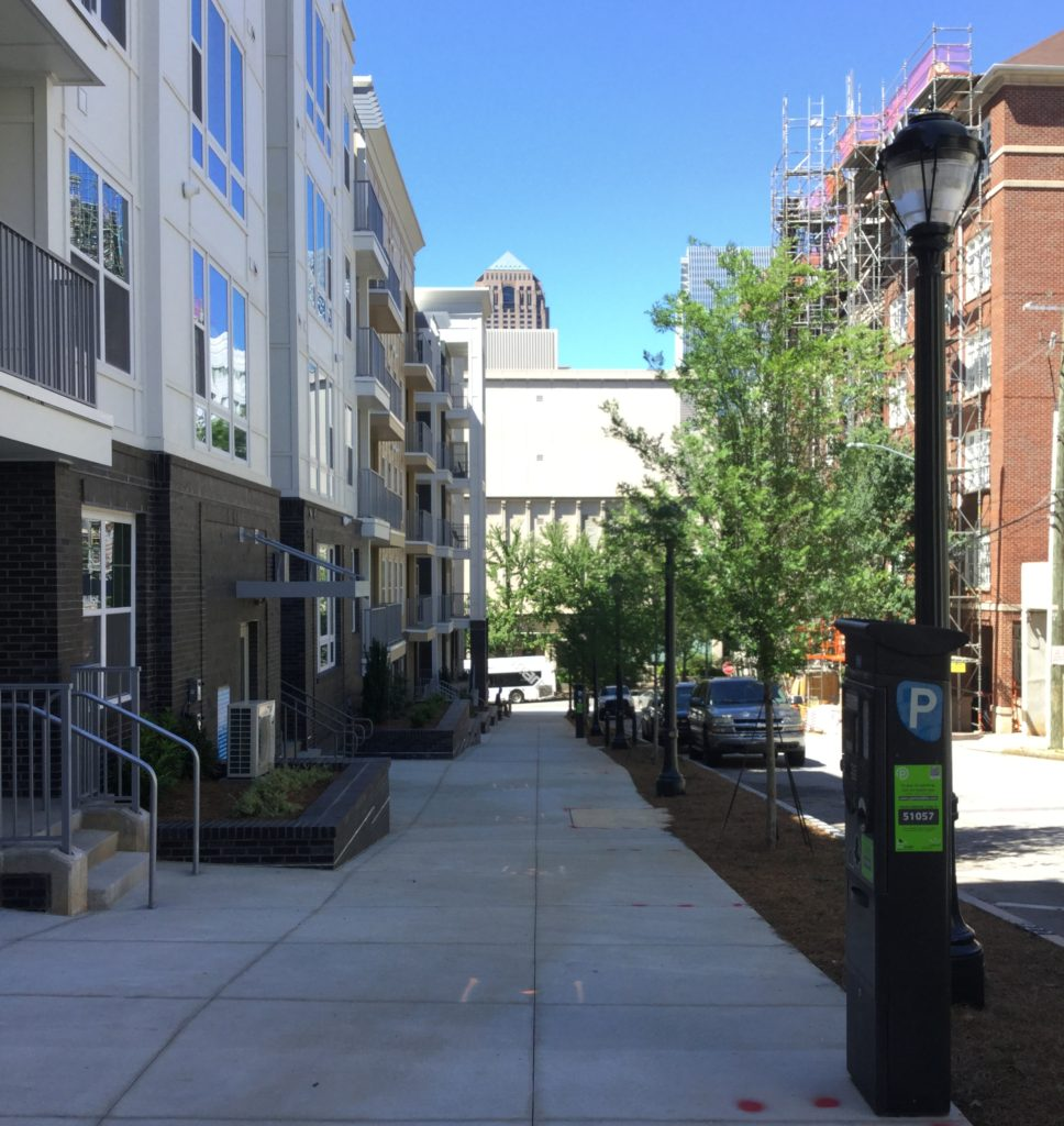 New apartments nextt to the Midtown MARTA Station