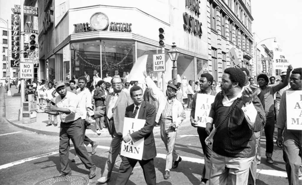 Hosea Williams protest march