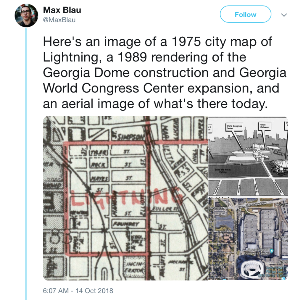 Max Blau tweet about Lightning